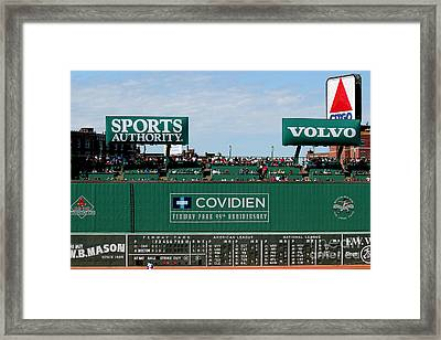 The Green Monster 99 Framed Print by Tom Prendergast