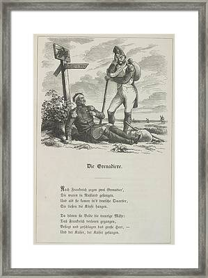 The Grenadier Framed Print by British Library