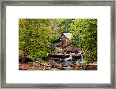 The Grist Mill Framed Print by Steve Harrington