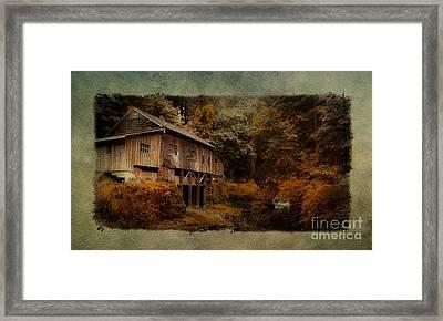 The Grist Mill  Framed Print by Steve McKinzie