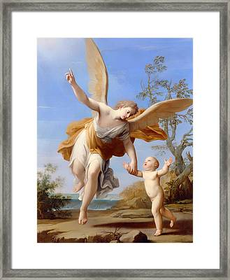The Guardian Angel Framed Print by Mountain Dreams