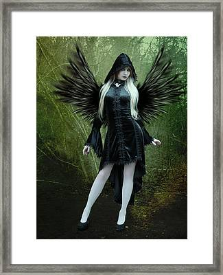 The Guardian Framed Print by Ester  Rogers
