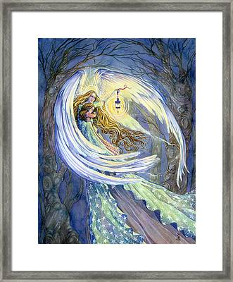 The Guardian Framed Print by Sara Burrier