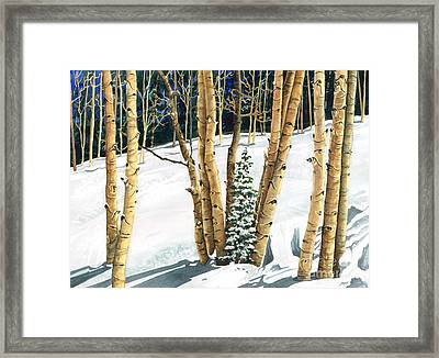 The Guardians Framed Print by Barbara Jewell