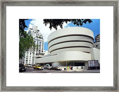 The Guggenheim Framed Print by Allen Beatty