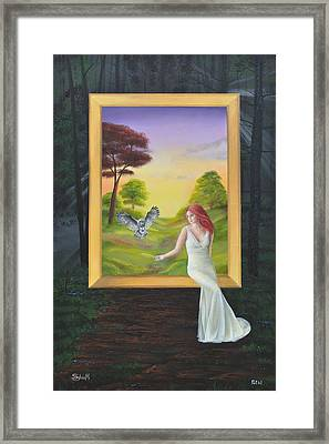 The Guide Framed Print by Surreal World