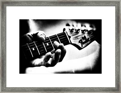 The Guitar Framed Print by Bob Orsillo