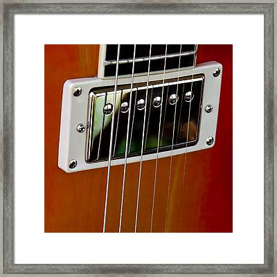 The Guitar Framed Print by David Patterson