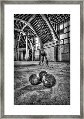 The Gym Framed Print by Jason Green