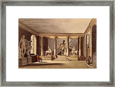 The Hall At The Royal Academy, Somerset Framed Print by English School