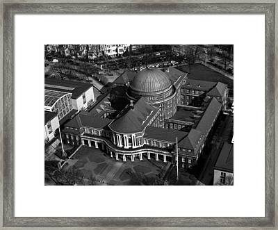 The Hamburg Library Framed Print by Mountain Dreams