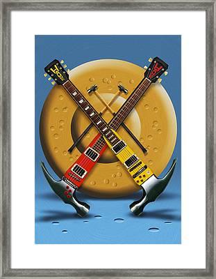 The Hammer Framed Print by Mike McGlothlen