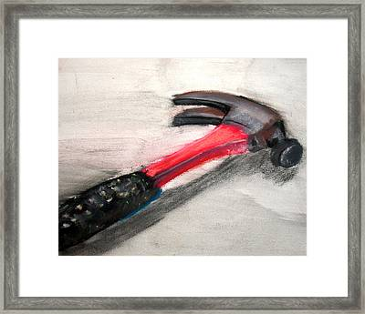 The Hammer Framed Print by Ryan Burton