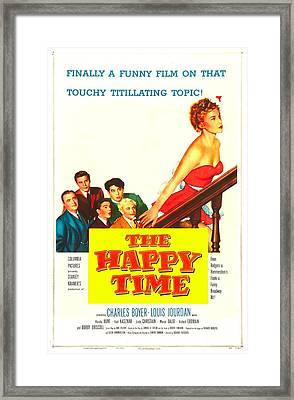 The Happy Time, Us Poster, Linda Framed Print by Everett