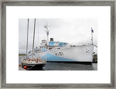 The Harbor Framed Print by Betsy C Knapp