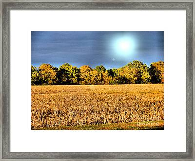 The Harvest Is In Framed Print by Luther   Fine Art
