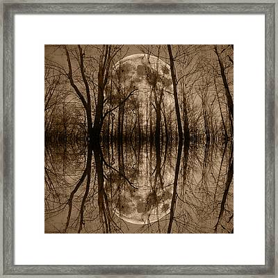 The Haunting Game  Framed Print by Betsy Knapp