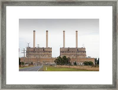 The Hazelwood Coal Fired Power Station Framed Print by Ashley Cooper