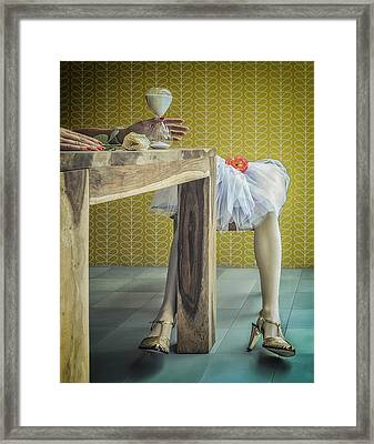 The Headless Bride Framed Print by Ambra