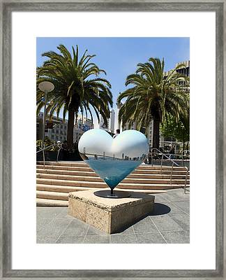 The Heart Of San Francisco Framed Print by Mountain Dreams