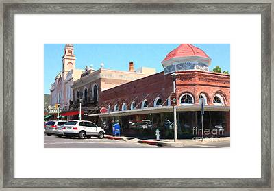 The Heart Of Sonoma California 5d24484 Long Framed Print by Wingsdomain Art and Photography