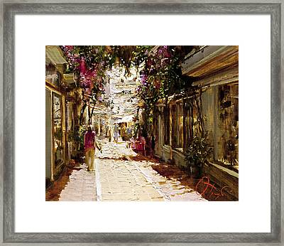 The Heat Of Andalusia Framed Print by Oleg Trofimoff