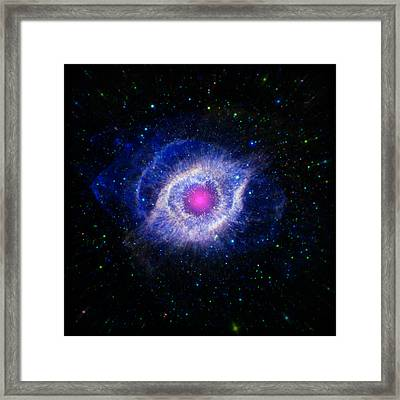 The Helix Nebula  Framed Print by The  Vault - Jennifer Rondinelli Reilly