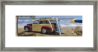 The Hideaway Panoramic Framed Print by Mike McGlothlen