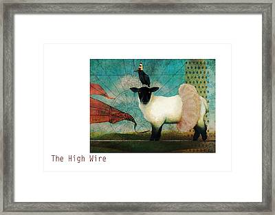 The High Wire Framed Print by Katherine DuBose Fuerst