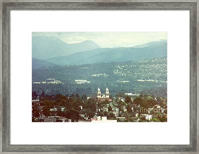 The Hills Are Alive With The Sound Of Music Framed Print by Michael Hoard