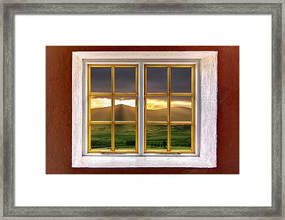 The Hills Framed Print by Semmick Photo