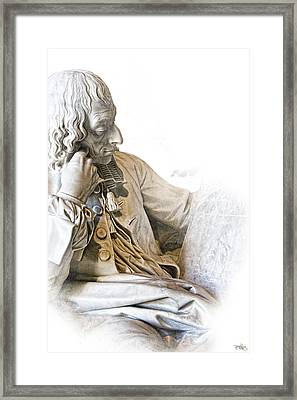 The Historian Framed Print by Evie Carrier