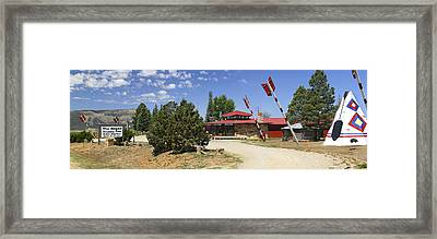 The Hogan Trading Post - Marcos Framed Print by Mike McGlothlen