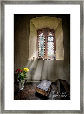 The Holy Bible Framed Print by Adrian Evans