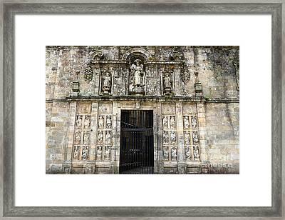 The Holy Door Framed Print by James Brunker