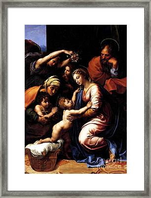The Holy Family Framed Print by Pg Reproductions