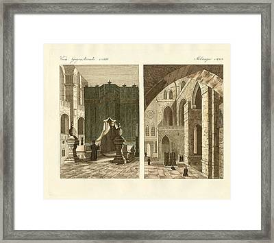 The Holy Sepulcher Of Jerusalem Framed Print by Splendid Art Prints