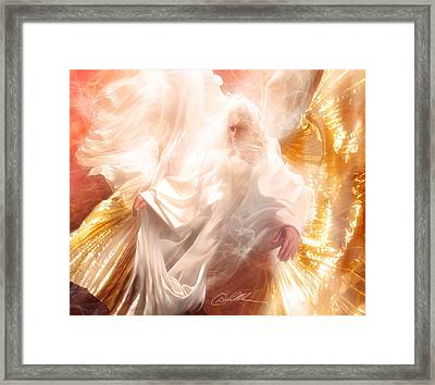 The Holy Spirit Framed Print by Danny  Hahlbohm