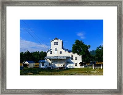 The Homan Mill Framed Print by Teena Bowers