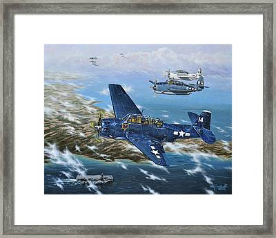 The Homecoming Framed Print by Craig T Burgwardt