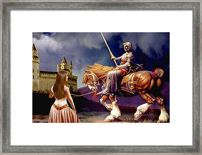 The Homecoming Framed Print by Ron Chambers