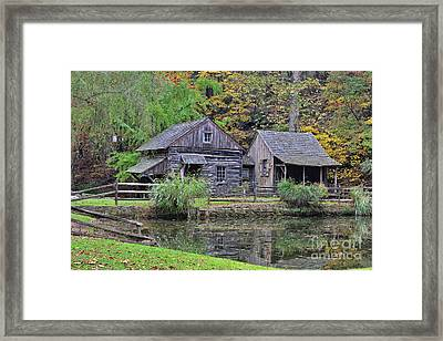 The Homestead Country Living Framed Print by Paul Ward