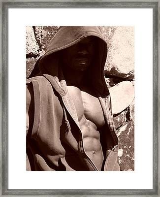 The Hood Framed Print by Jake Hartz