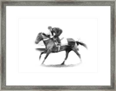 The Horseman Framed Print by Stefan Kuhn