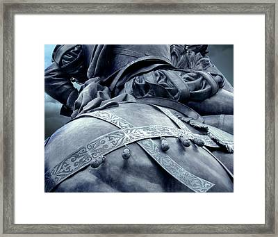 The Horses Ass Framed Print by Jefferey McDowell