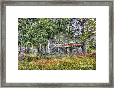 The House In The Woods Framed Print by Dan Stone