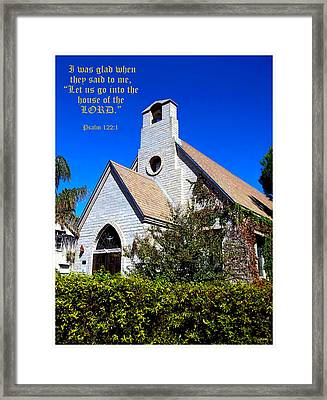 The House Of The Lord Framed Print by Glenn McCarthy Art and Photography