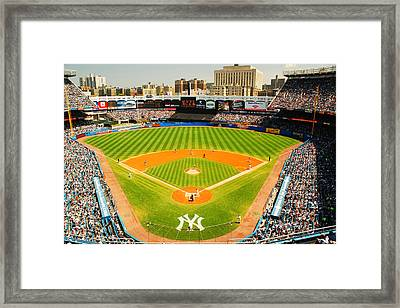 The House That Ruth Built Old School Framed Print by James Kirkikis