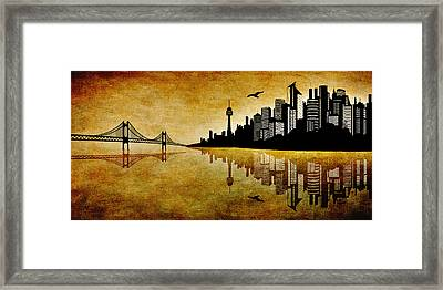 The Hubris Of Mankind 1 Framed Print by Angelina Vick