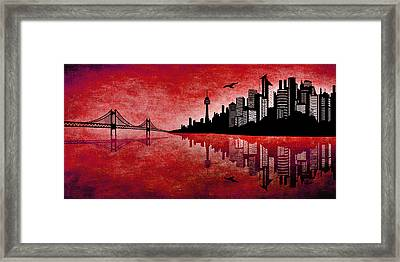 The Hubris Of Mankind 3 Framed Print by Angelina Vick